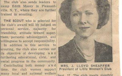 1951 Newspaper Article