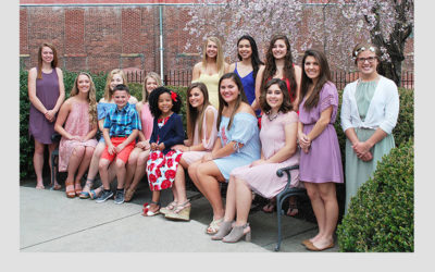 2017 Queen of Candles Court